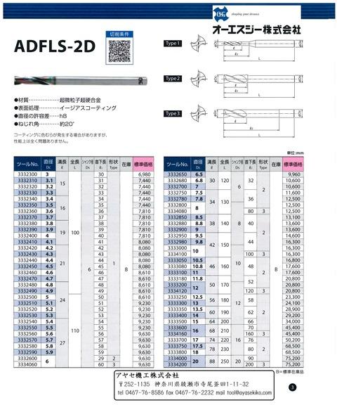 OSG 超硬フラットドリルADF2on1キャンペーン (4)
