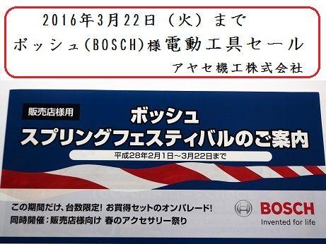 BOSCHボッシュスプリングフェスティバル (1)