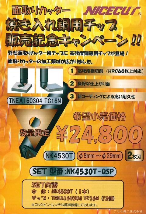 富士元工業㈱ 高硬度鋼専用チップ (1)