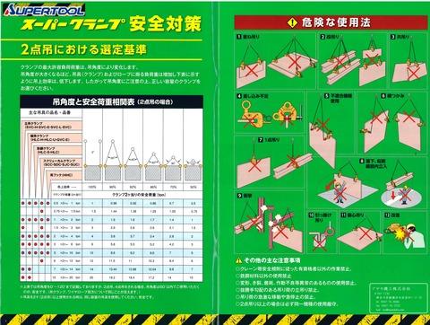 スーパーツール 安全対策 吊りクランプ (1)