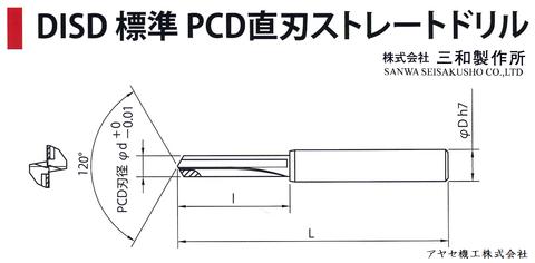 ㈱三和製作所 PCDドリル チップ アヤセ機工 - ドリル