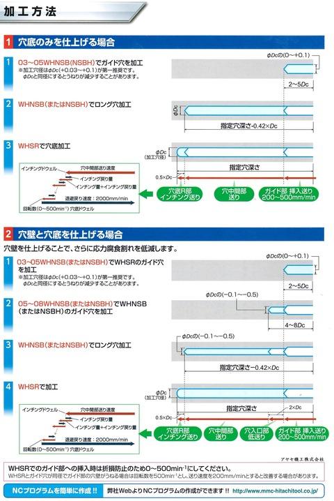 三菱日立ツール SR球面加工用超硬ドリル (4)