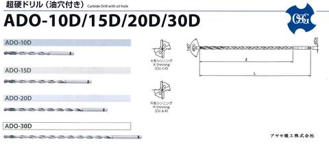 OSG 超硬ドリルシリーズ (ADO 2 djpg