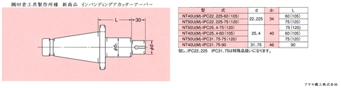 田倉工具 インパンディングカッターアーバー (5)