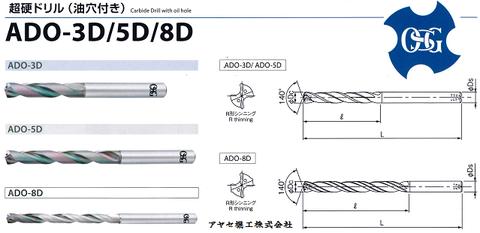 OSG 超硬ドリルシリーズ (ADO djpg