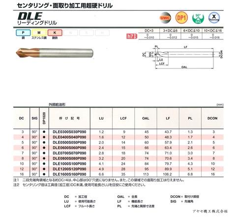 三菱マテリアル リーディングドリルDLE (3)
