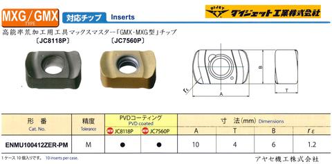 ダイジェット マックスマスターGMXMXG (チップ型式)