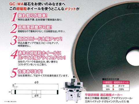 岡崎精工 湿式平面くん 特徴 アヤセ機工