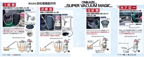 ㈱赤松電機製作所 スーパーバキュームマジック (4段階)