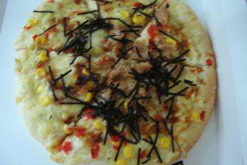 テリヤキチキンピザ