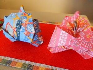 折り紙のお雛様