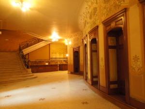 ヴィシーのオペラ座の入口