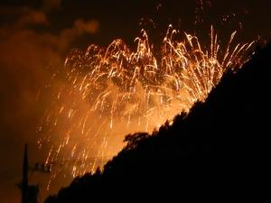 塩原の花火
