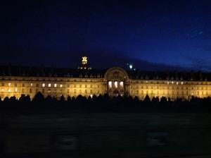 建物もライトアップ