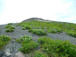 茶臼岳山頂も目と鼻の先