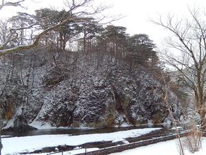 2016.1.25の朝の雪景色