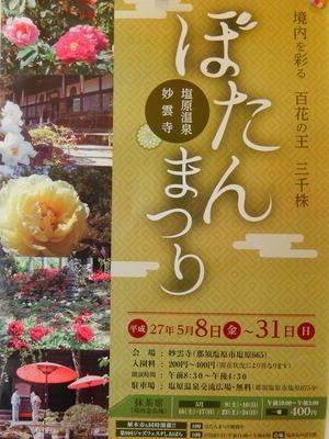 ぼたん祭り2015