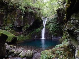 オシラジの滝