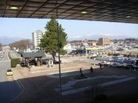 那須塩原駅からの山並み(那須方面)