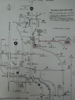 道の駅からの地図