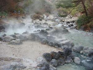 温泉パワー炸裂