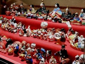 雅叙園の雛人形展