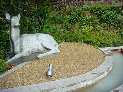 那須湯本の温泉はにごり湯