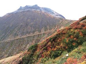 朝日岳登山道