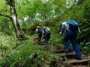 田代山登山