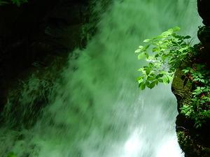 迫力の水量