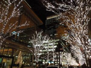 東京丸の内のイルミネーション