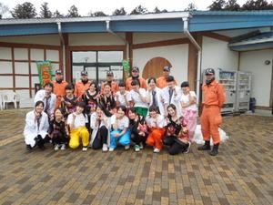 大田原女子高ダンス部と消防署員