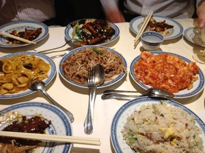 パリの中国料理