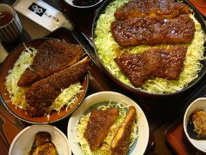 会津名物ソースカツ丼