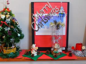 もの語り館のクリスマスディスプレイ