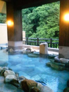 水の郷 露天風呂