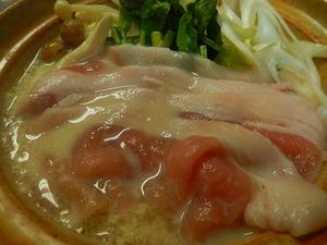 那須郡司豚のミルク鍋