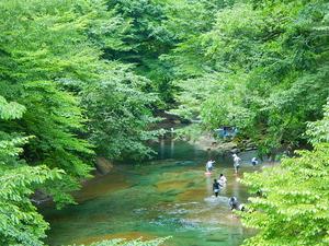 木の俣渓谷