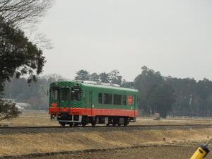 真岡鉄道スイカ電車