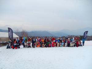 スラロームDOGスキー大会