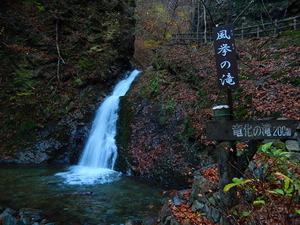冬の風挙の滝