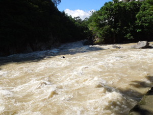 鹿股川と箒川の合流地点