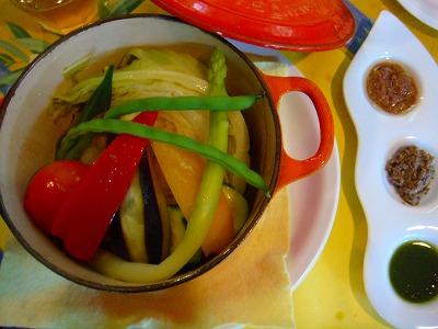 高原野菜のチーズ焼き