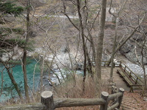 布滝観瀑台へ