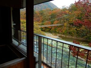 七ツ岩つり橋2014.10.31