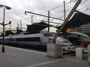 パリ・リヨン駅に到着