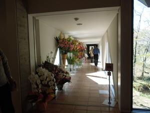 廊下の先が展示スペース
