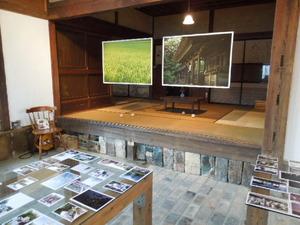 事務局内の展示