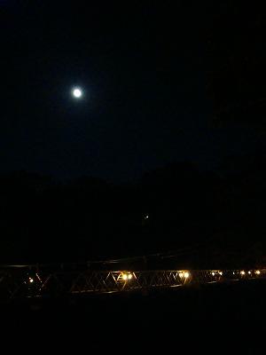 10月24日の月夜