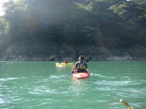 カヤックボート探検